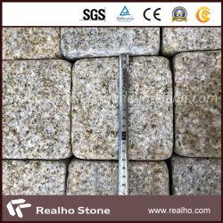 Prix bon marché de l'or sunset G682 a dégringolé de galets de pierre de granit