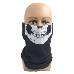 Abitudine senza giunte tubolare multifunzionale del Bandana di Headwear del poliestere nessuna guaina giallo cuoio minima del collo della sciarpa del Bandana