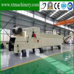 motor diesel 6 Lâminas de pcs portáteis, 20-25ton/hora Triturador de madeira de capacidade