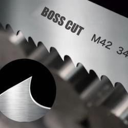 Máquina de sierra de banda de 27x0.9mm Hoja de Metal y tala de árboles