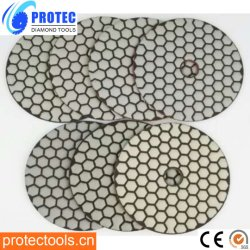 ダイヤモンドの磨くパッドかダイヤモンドのツールまたはWet&Dryの磨くパッドまたは適用範囲が広い磨くPads/3ステップ磨くパッド
