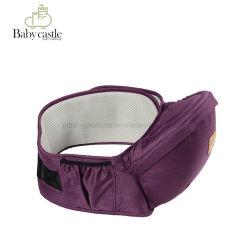 El único con certificación de seguridad del asiento de la cadera Baby Carrier - grandes bolsillos de almacenamiento, ajustable, Lavable a máquina, Asiento ergonómico