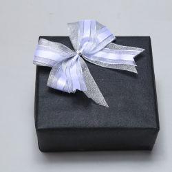 Venta de cinta de organza blanco caliente de proa con la fabricación de cajas negras Proveedor