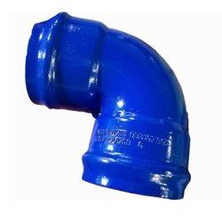 Raccordo a gomito En545 ISO2531, piegatura flangiata, riduttore concentrico, raccordo a T per tubi in ferro duttile e a raccordo per tubi in PVC e in ferro duttile