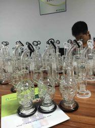 Varios modelos disponibles del tubo de vidrio de alta calidad, el hábito de fumar pipa de agua con el envío rápido del tubo de agua de cristal
