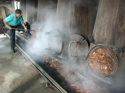 Huile essentielle de la machine de distillation pour Rose Bois de santal