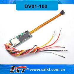 60fps 720p HD Mini CMOS Digital Recordable Videocamera Module, HD Camera PCB Board (DV01-100)