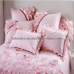 침대 시트 & 누비이불을%s 가정 직물 공단 직물