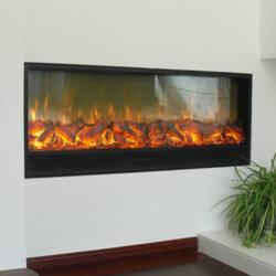 Holz-Brennenden Heizungs-Kamin mit Remote/APP Steuerung einschieben