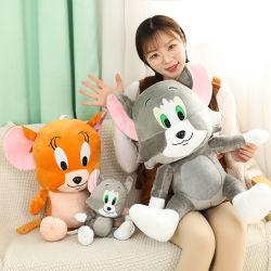 Het nieuwe Leuke Speelgoed van de Marionet van Doll van de Pluche van Safa Suffed van de Gift van de Kat en van de Muis van het Beeldverhaal Goedkope Zachte Dierlijke