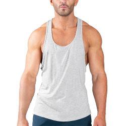 Высококачественный мягкий материал Быстрый сухой спортзал спортивный мужчин верхней части