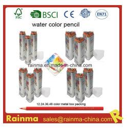 Hoogwaardige water Color Vulpotlood in metalen buis voor Promoties Gebruik