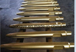 42cr, Conical Point 또는 Cone Steel Hydraulic Hammer Chisels