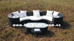 El Sofá al Aire Libre con Estilo de la Rota Fijó (BP--873A)