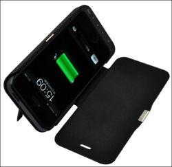 Neuer lederner Batterie-Kasten u. Aufladeeinheit für iPhone 5, 5c, 5s
