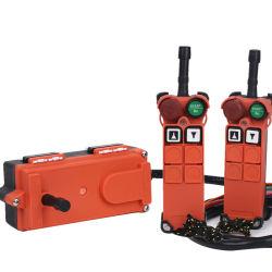 2 Émetteur 1 récepteur 2 canaux radio industrielle double vitesse contrôleur distant