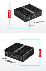 مصنع سعر الجملة ميني بي جي-L2 رباعي النواة 2*LAN، 1*VGA، 1*HDMI ميني PC