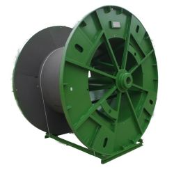 Bajarse la perforación de bobina de metal para el cable de bobina de Cable&