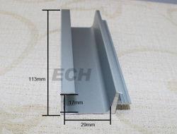 Perfil de extrusão de alumínio para portas e janelas