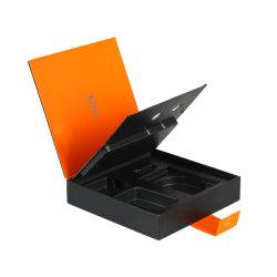 Het Elektronische Product die van de douane het Elegante Magnetische Vakje van het Document van de Gift van de Vorm van het Boek verpakken