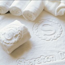 100%年の綿贅沢なタオルのホテルタオルの浴室タオル