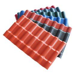 Feuille de toiture décoratifs Apvc bon marché pour les constructions