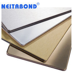 4mm de ambos lados de la partición de recubrimiento Panel Panel Compuesto de Aluminio (ACP)