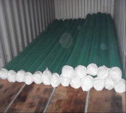 Recubierto de pvc Cercado de la cadena de eslabones de cadena de malla/valla de malla de alambre/Diamond