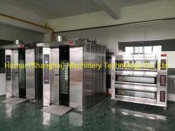 La Chine produits/fournisseurs. Commecial boulangerie Rack rotatif de convection Four à pain d'équipement (ligne de production de boulangerie complet fourni)