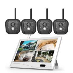 Videosorveglianza della casa della macchina fotografica del CCTV con '' schermo di tocco dell'affissione a cristalli liquidi 10 Motior