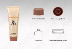 D25mm Hand Cream Hydratante tubes laminés en aluminium Soft Squeeze PE Tube en plastique