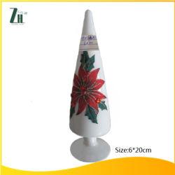 Glass saltato Tree per Christmas Decoration
