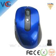 Amostra grátis! Banheira de 3D Mouse Sem Fio USB para PC laptop, mouse óptico sem fio (VMW-10)