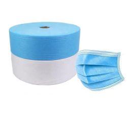 أفضل الأسعار المواد الخام الطبية أزرق SMS/SS قماش غير منسج غير مربوق لحقائب التعبئة