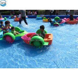 120 кг один человек вес груза для использования вне помещений Детские руки ракетку лодки/ Бассейн лодки, на педали управления подачей топлива