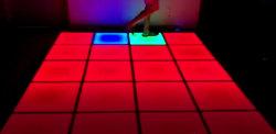 Этап эффект датчик движения/интерактивный светодиодный индикатор для пола дискотека, клуб, события