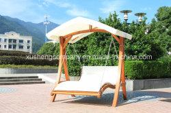 Muebles de jardín tipo carpa MADERA Silla columpio doble