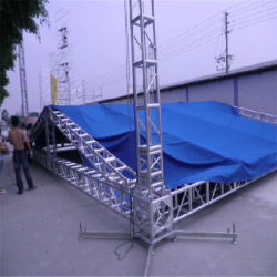 DJ barato Square 350x350 Altifalante de Matriz de Linha de alumínio do espigão da Camada de Áudio Torre elevação DJ Stage Truss
