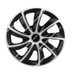 Swift Universal embellecedor llanta Anti-Wear Twin-Color cubierta de la rueda del coche