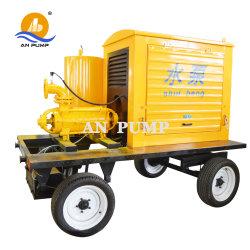 L'irrigation agricole Pluriétagé haute pression Diesel centrifuge Pompe à eau
