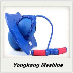 体操の適性PVC膨脹可能な跳躍のホッパー球/バランスのPogoの球
