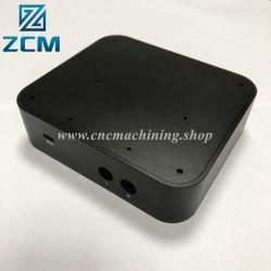 소규모 일괄 생산 맞춤형 소형 CNC 기계 가공 파트 박스 금속 알루미늄 스피커 HDD 전자 인클로저 하드 드라이브 인클로저