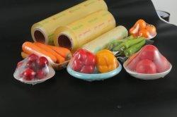 Il PVC della plastica di spostamento di alimento aderisce pellicola