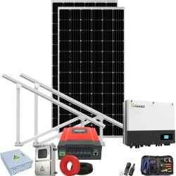 태양열 냉각 시스템을 위한 이탈리아 로마에서 태양열 발전