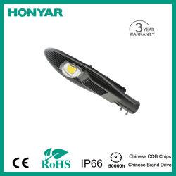 Calle luz LED LED lámpara de carretera de la mazorca con protección IP65 50W 100lm/W/aluminio aluminio fundición a presión CE