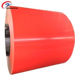 Los materiales de construcción de la construcción de techos de hoja de hierro laminado bobinas de acero PPGL