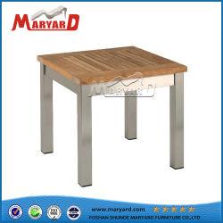 Poly al aire libre teca madera Café Restaurante Plaza de la mesa de comedor