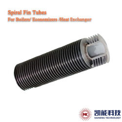 提供される高周波によって溶接されるステンレス鋼の螺線形のひれ付き管の炭素鋼の螺線形のFinned管の工場