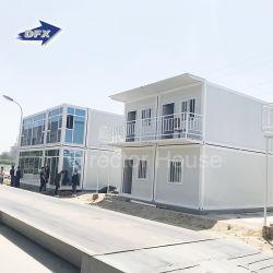 Caravana de luxo madeira Modular Living Fast Construções prefabricadas 20FT 40FT Contêiner pequeno portátil Prefab House para o Office Hotel