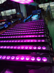 IP65، مقاومة للماء، DOTPixel Control 18*18 واط، Rgbwauv 6in1، LED Bar غاسلة جدار ضوء الديسكو